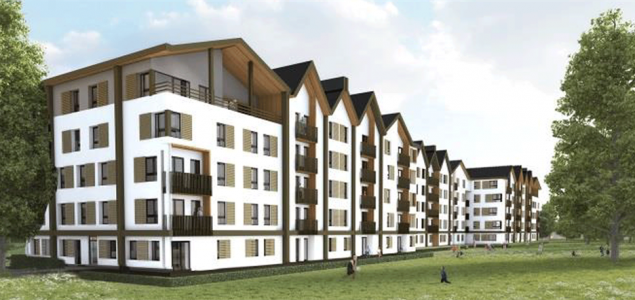 France: Largest residential building made from Stora Enso's CLT