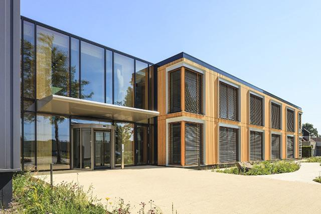 Most Sustainable Wooden Office Building Is In The Netherlands
