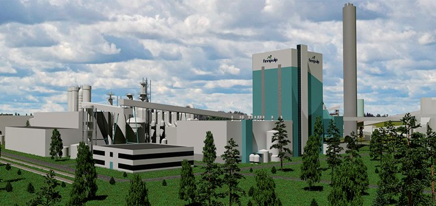 Finnpulp to raise its investment into a new bioproduct mill in Finland to EUR 1.6 billion