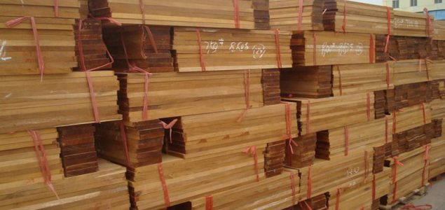 Current sawn timber price trends in China