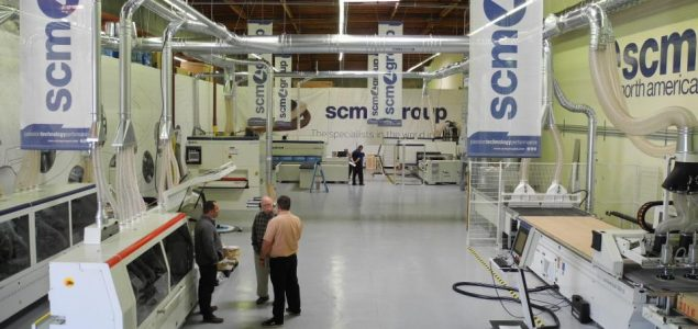 Italian woodworking machinery giant SCM restarts production