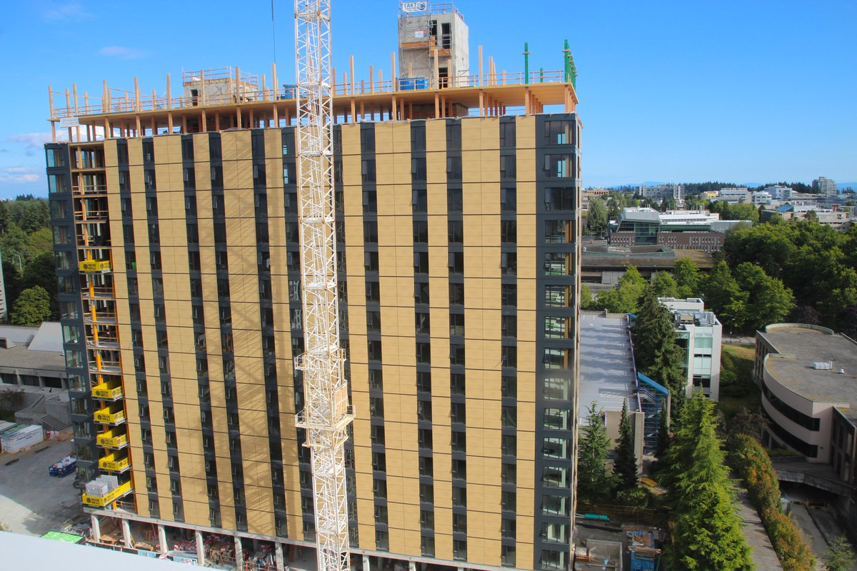 Tallest Timber Building In The World Was Topped Off In Vancouver