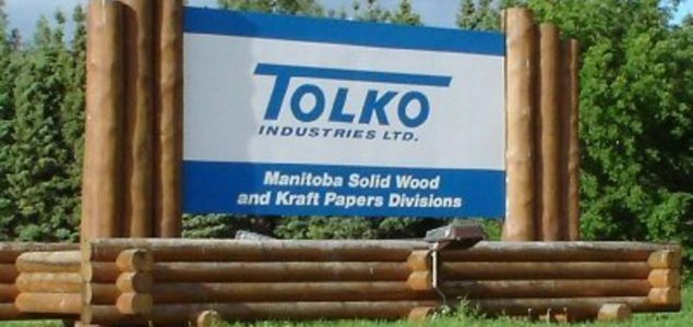 Tolko Industries shuts down mill in Manitoba