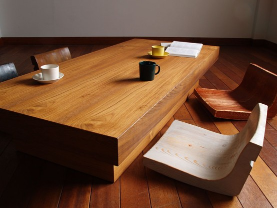 Most recent trends in Japanese office, kitchen and bedroom