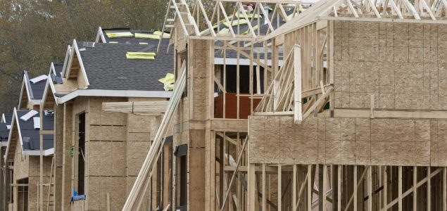 US housing starts level off in January