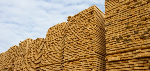 Sawn timber exports from Finland to China doubled in the second quarter