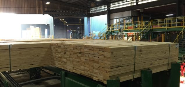 Georgia-Pacific completes $100-Million lumber facility in Alabama