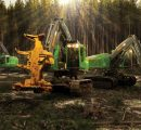 John Deere reports booming sales in construction and forestry segment