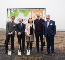 Construction is underway for Kebony's second European factory in Flanders