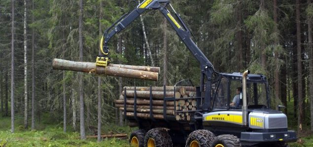Sales of forestry machines in Germany and Austria on a downward trend in 2016