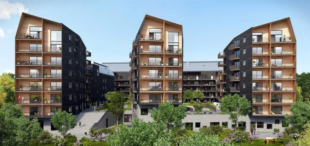 Stora Enso to supply CLT for one of Sweden's largest wood construction projects