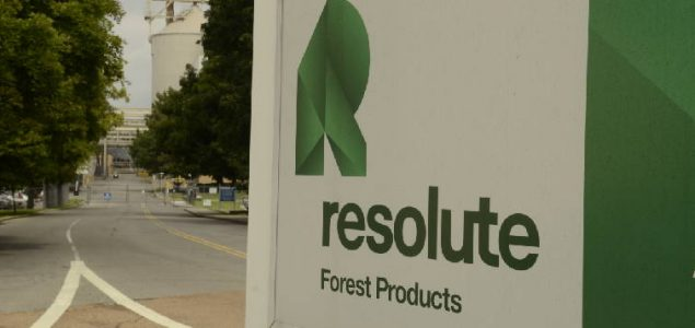 Resolute Forest Products will pay more than $75 million a year in duties