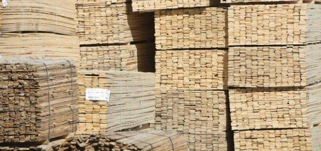 European softwood lumber exports to China fall by 25%