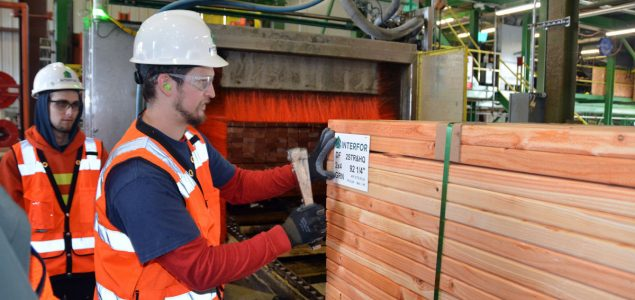 Interfor curtails lumber production at three of its sawmills in BC