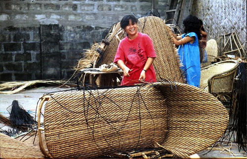 Chinese Rattan Furniture Makers Eye Move To Indonesia