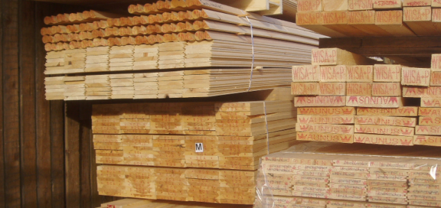 European sawmills report static hardwood production