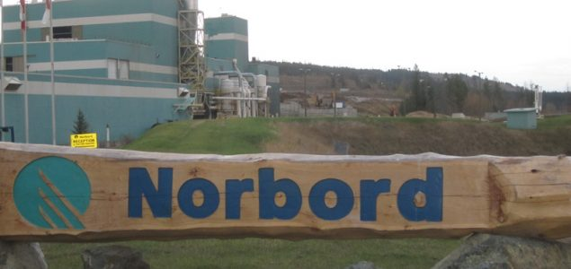 Norbord resumes operations at its OSB mill in High Level