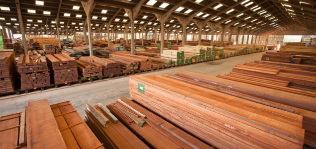 Hardwood exports from the US to China get to record levels in Q1 2018