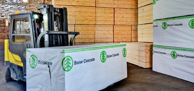 Boise Cascade ceases LVL production at Roxboro; completes sale of two lumber mills