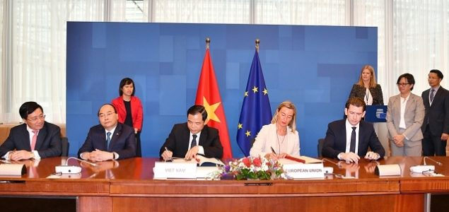 EU and Vietnam sign the VPA