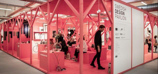 Swedish pine showcases Scandinavian design at the London Design Fair