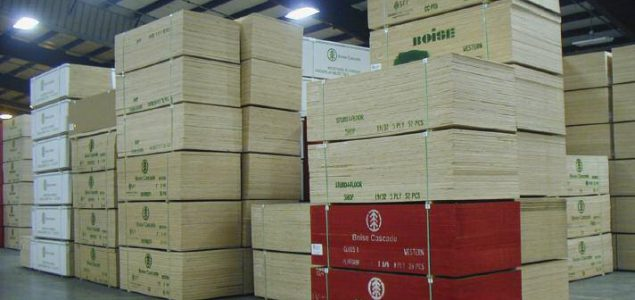 Boise Cascade to expand plywood plant in South Carolina