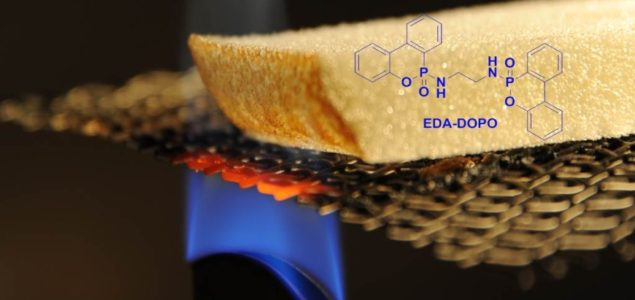 New additive protects wood-based materials from fire