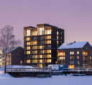 Sweden's tallest timber building completed