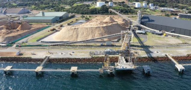 Australia's woodchip industry hit by US-China trade war as shipments cancelled