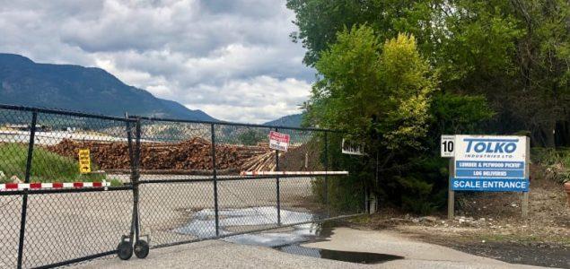 Tolko to permanently close Kelowna mill