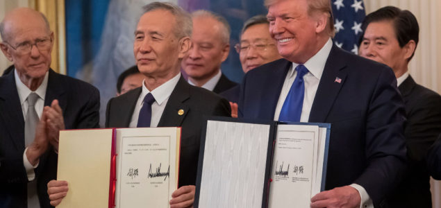 "Hardwood lumber is included in the U.S.-China ""Phase One"" trade deal"