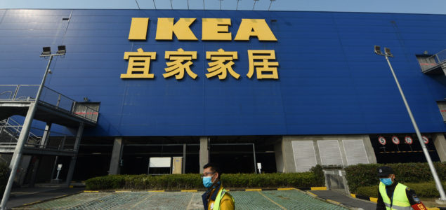IKEA to close its stores in mainland China due to coronavirus outbreak