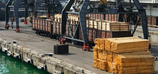 Swedish and German softwood lumber exports to China rise sharply despite pandemic