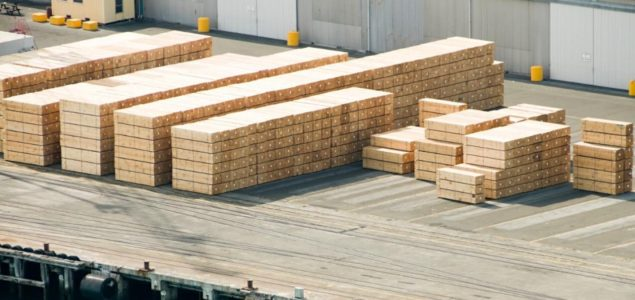 European timber importers put orders on hold
