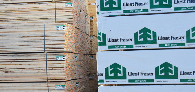West Fraser substantially resumed lumber and plywood production in May
