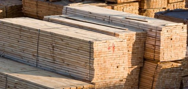 N. American softwood lumber prices partially moderate as plywood go down