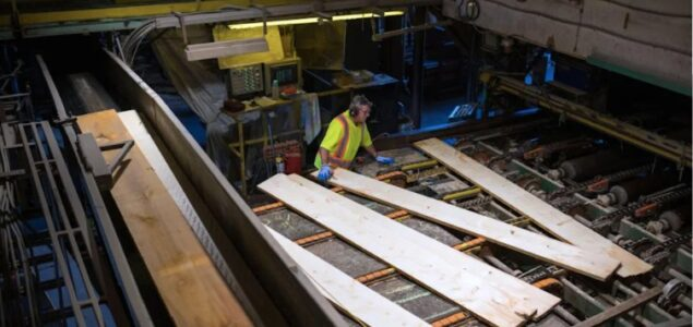 Canadian sawmills can't keep production pace with lumber demand