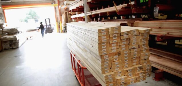US lumber prices plunge more than 40% in June, biggest monthly drop on record