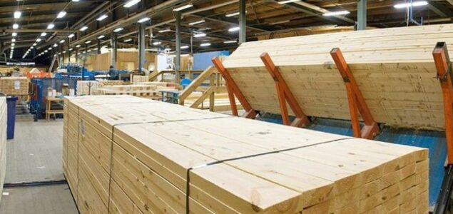 Swedish sawmills run at high speed on record export prices