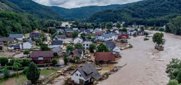 Heavy floods may affect timber production in western Germany
