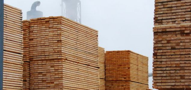 China: Price index for imported sawn timber