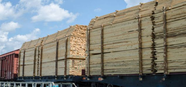 Boom in Russian softwood lumber train deliveries to China supported by the Belt & Road Initiative