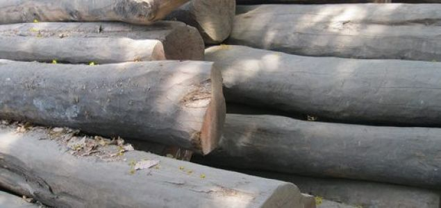 India: Current prices for imported wood products
