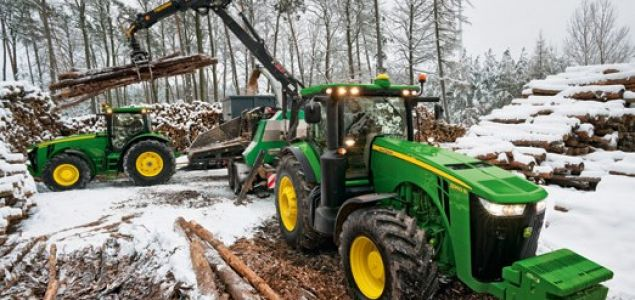 John Deere to lay off 100 in construction and forestry segment